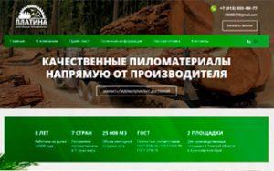 Корпоративный сайт под ключ export-omsk.ru