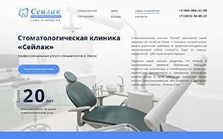 Сайт визитка в Омске заказать